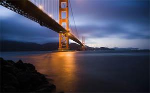 לשבת בסן-פרנסיסקו על המים