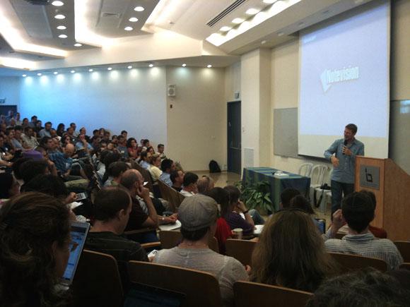 Matt Mullenweg @ WordCamp Jerusalem