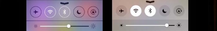 השוואת מסכים IOS 7 מול 8