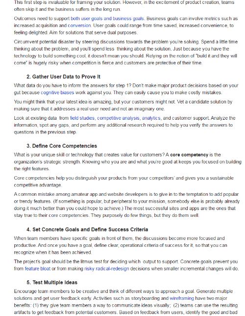 הסנדלר הולך יחף - כתבה מתוך הבלוג של חברת הייעוץ לחוויית משתמש - NNG