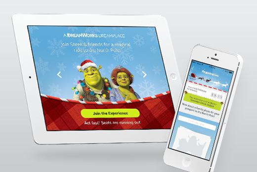 Dreamworks Dreamplace - כך הפגשנו כחצי מיליון אמריקאים עם שרק וסנטה קלאוס
